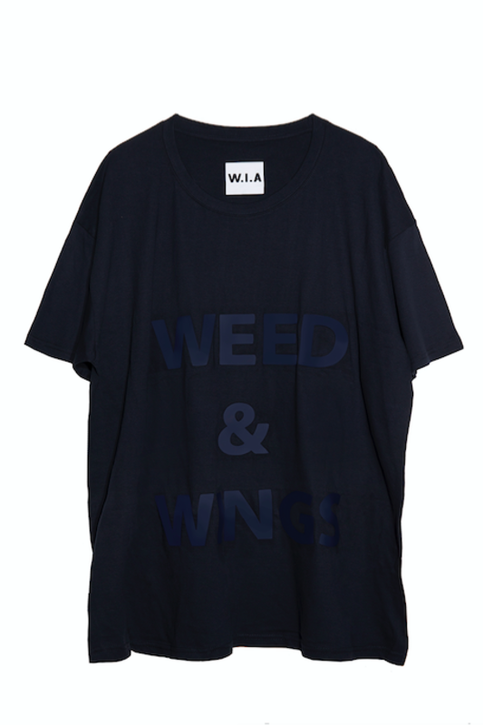 WEED&WINGS OVERSIZE T-SHIRT