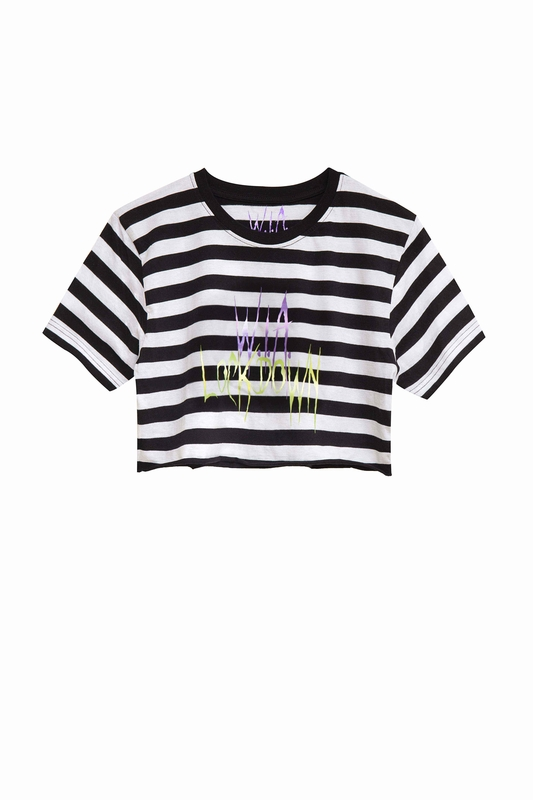 LOCKDOWN CROP TOP-ORGANIC